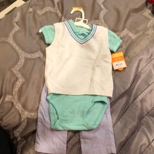 Carter's 3 piece matching set, new with tags